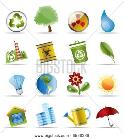 Realistic Icon - Ecology
