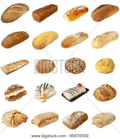 Bakery Mixed Selection