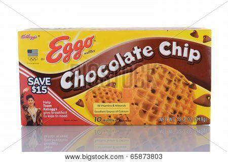 Eggo Chocolate Chip Waffles