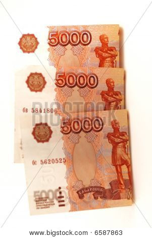 Three Bank Notes, Fifteen Thousand Roubles