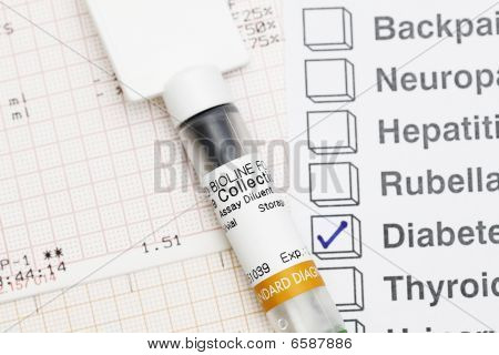 Medical Syringe With Result