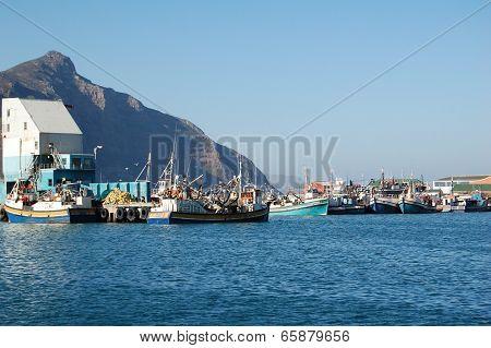 Hout Bay Fishing Boats