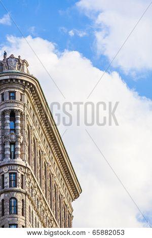 Flatiron Building In New York