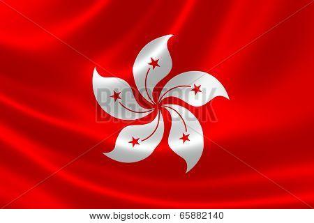 Flag Of Hong Kong Special Administrative Region (sar)