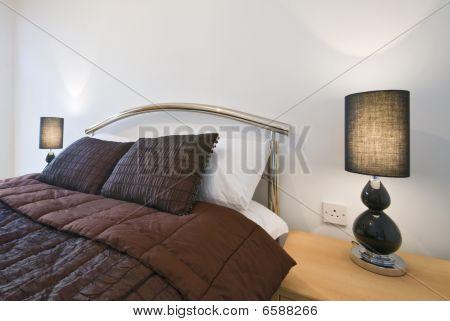 luxury bedroom detail