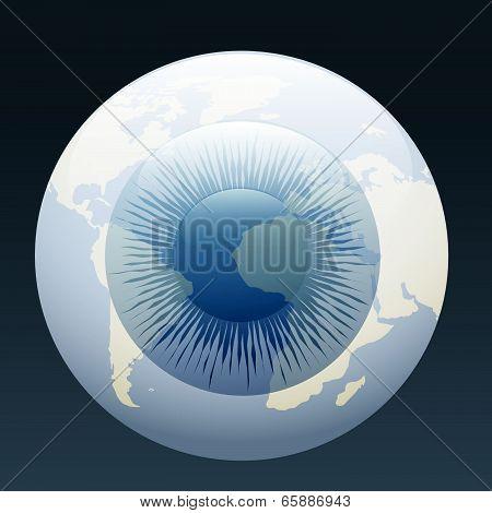 eyeball globe