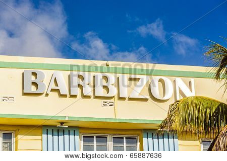 Barbizon Hotel At Ocean Drive In Miami Beach