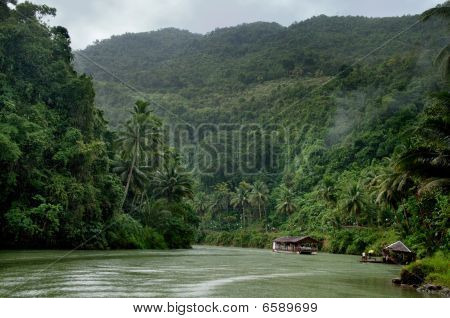 Tropical Jungle River