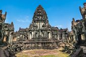 stock photo of hindu temple  - Banteay Samr - JPG