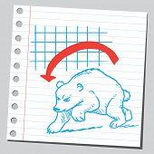 Bearish market poster
