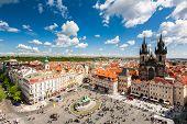 foto of bohemia  - Old Town Square in Prague - JPG
