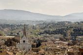 stock photo of mezcal  - View of Florence from the campanile Giotto - JPG
