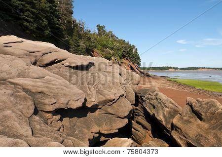 Sandstone Boulders