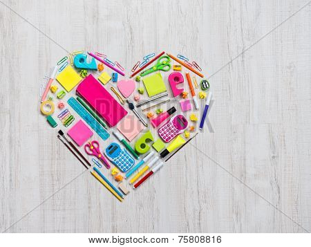 Creative Colorful Heart