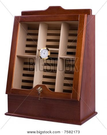 Cabinet for cigar storage