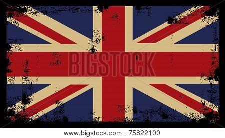 Grunge British Background 2