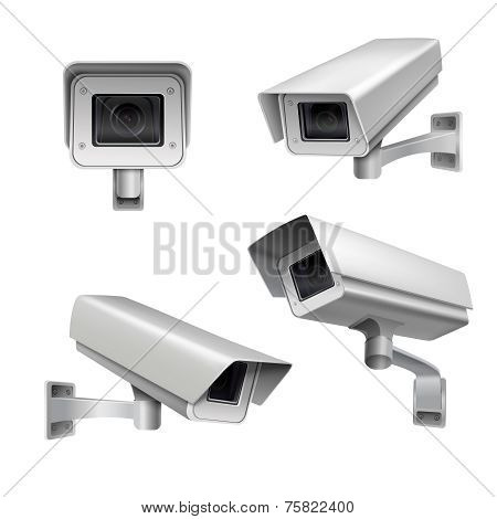 Surveillance camera set
