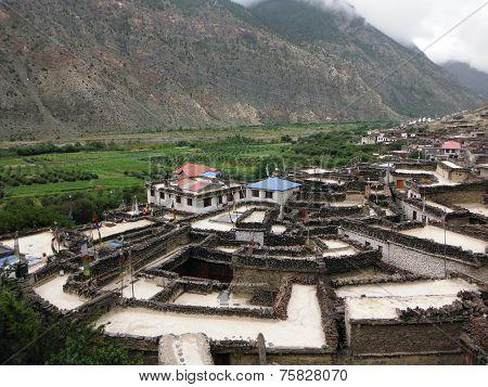 Authentic Himalayan Village Marpha