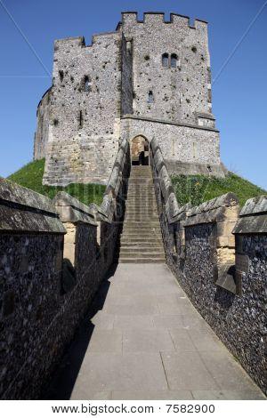 Castillo Arundel inglés Medieval
