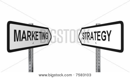 Marketing Strategy Arrows