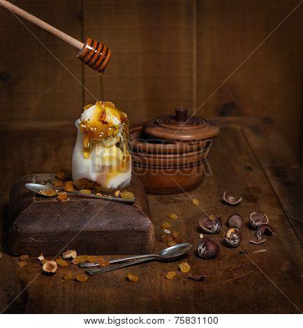 Decoration Of Ice Cream
