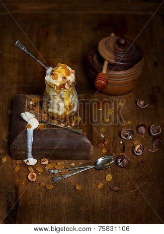 Still Life With Ice Cream