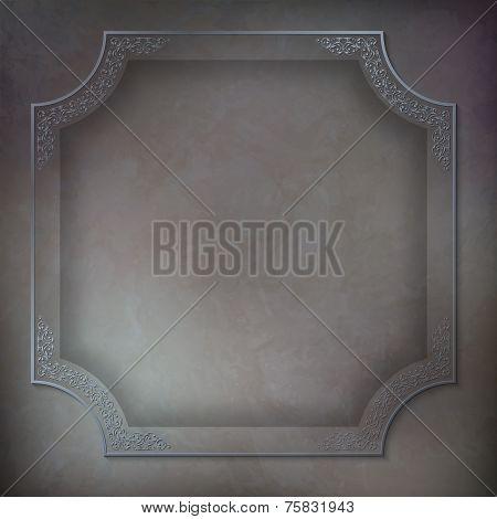 Vintage Vector Frame Background