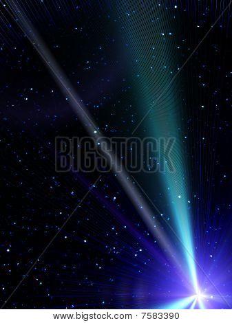 Sky  Stars  Comet