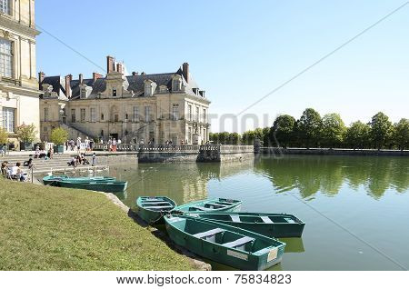 The Castle Of Fontainebleau