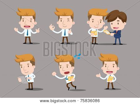 Vector Businessman series