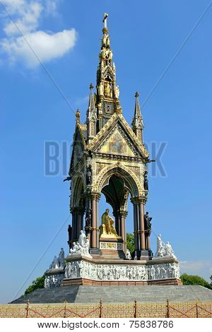 Albert Memorial In London.