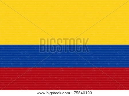 Flag of Colombia vector