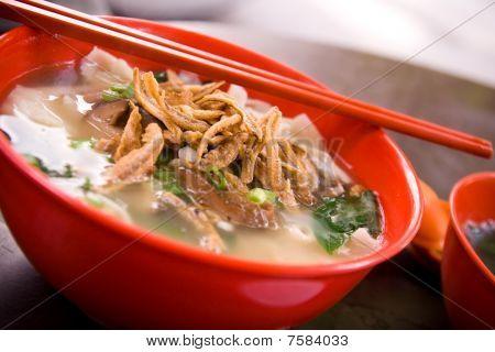 Asian Noodle - Pan Mee