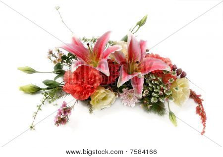 Beautiful Bouquet Isolated On White