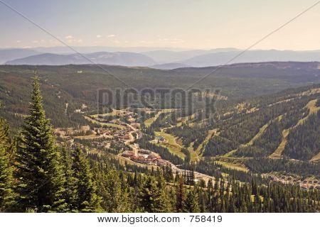 Sun Peaks Resort BC landscape