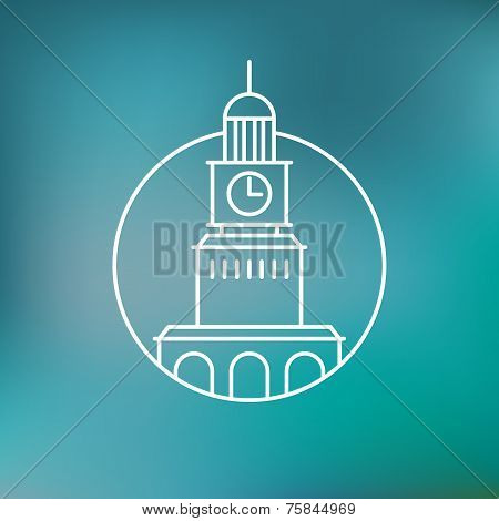 Vector Building Emblem
