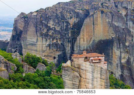 Holy Monastery At Meteora