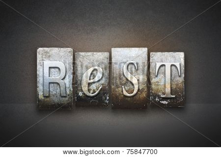 Rest Letterpress