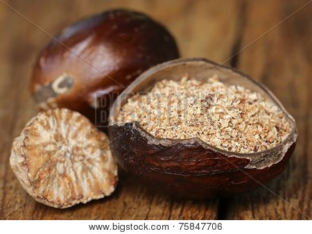Nutmeg Or Jaifal Spice