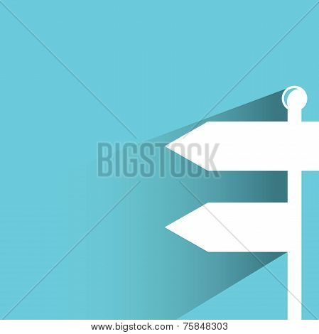 direction signage