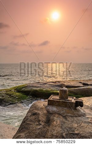 Shivling at someshwara beach