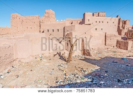 Kazbah Taourirt In Morocco