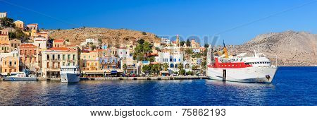 Symi Ferry Greece