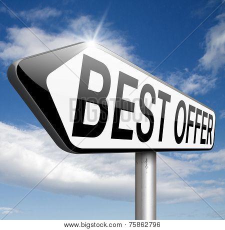 best offer or deal lowest price for value web shop or online promotion,  sign for internet webshop