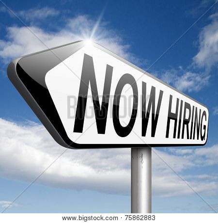hiring now job opening or offer search for jobs vacancy help wanted