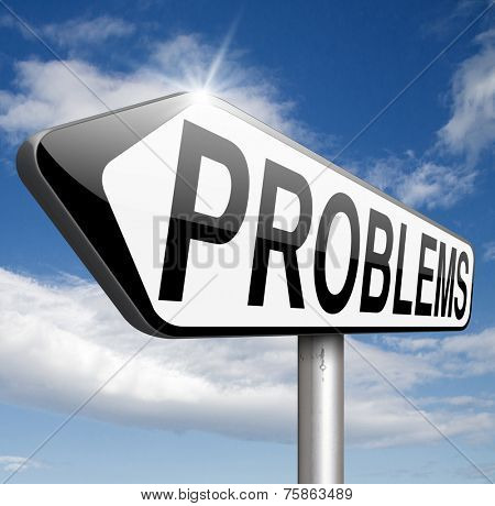 problems solved finding solutions and get out of trouble and solve problem