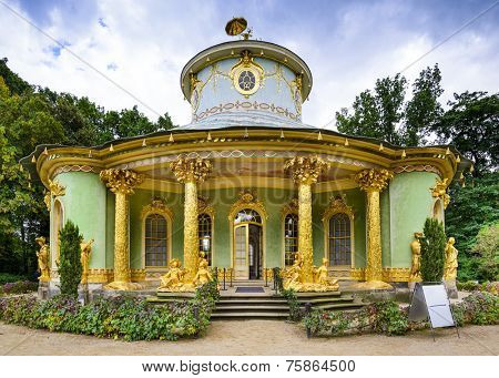 Potsdam, Germany China House tea house.