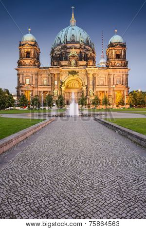 Berlin, Germany at the Berlin Cathedral.