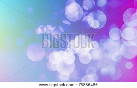 Abstract Circles Background