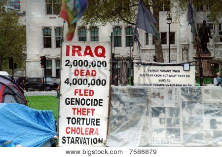 Iraq Protest In London